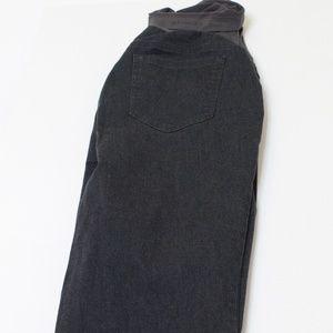 Motherhood Maternity Dark Grey Jeans Size M